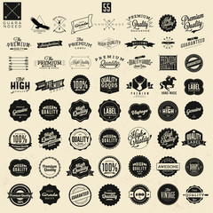 huge set of premium quality labels