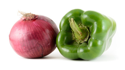 Pepper and Onion