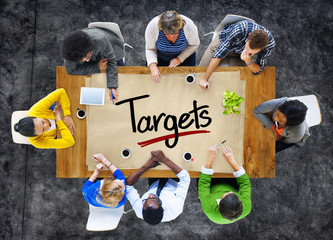 People in a Meeting and Target Concepts