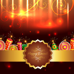 Attractive background of diwali