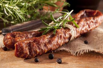 Savoury sausage