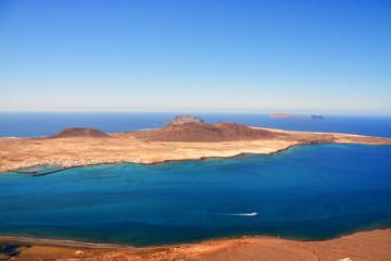 Panorámica Isla Graciosa, Lanzarote