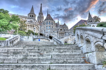 Papiers peints Artistique Fisherman's Bastion, Budapest, Hungary