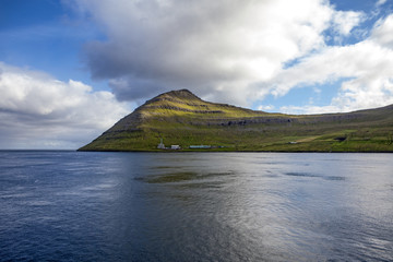 Faroe Island, North Atlantic near Klaksvik