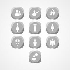 Social web icon
