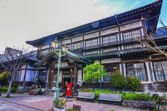 Takegawara Spa is Beppu's most famous bath house