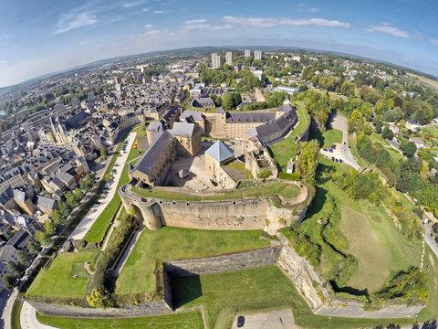 Castle of Sedan, Champagne-Ardenne, France
