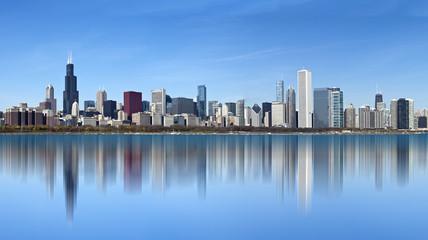 Chicago Skyline from Lake Michigan