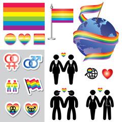 symbols of homosexual relationship