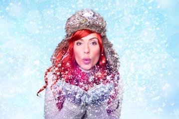 Winter Beauty Woman 1