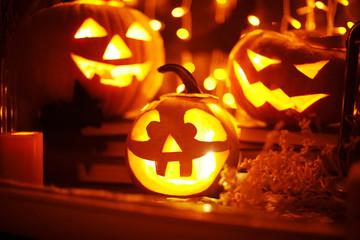 Halloween still-life