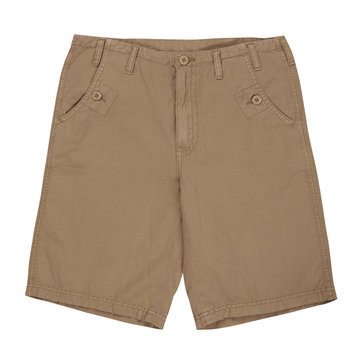 brown shorts isolated on white
