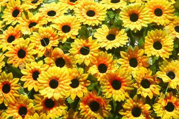 Artificial sunflower for garden decoration