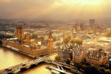Wall Mural - Westminster aerial