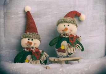 Schneemänner Weihnachten