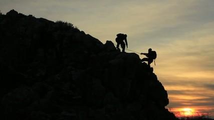 Wall Mural - tırmanış ve başarı keyfi