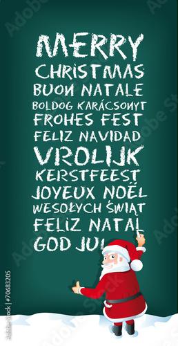 Frohe weihnachten sprachen bosnisch