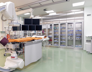 X-ray operating laboratory