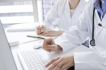 Woman doctor to be input to the PC