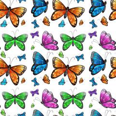 Seamless butterfly