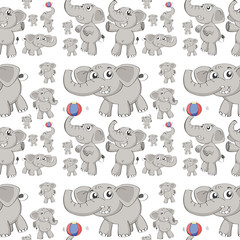 Seamless elephant