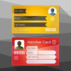 Member card design