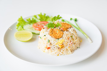 Macro Grill Northern Thai Sausage fried rice with egg