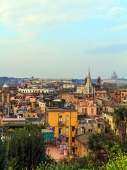 Fond de hotte en verre imprimé Nice Rome Panorama