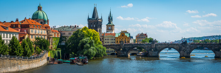 Foto op Aluminium Praag Prague ,Charles bridge