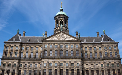 Wall Mural - Amsterdam - Royal Palace at the Dam Square