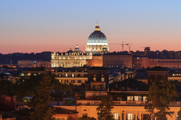 Roma Cupola di San Pietro