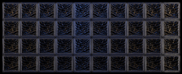 Glass blocks background