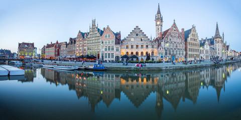 Ghent Medival Town in Belgium.