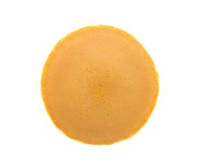 Dorayaki ( Japanese pancake ) on white background