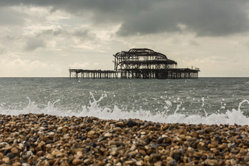 The West Pier in Brighton Beach