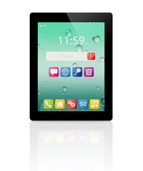 front tablet