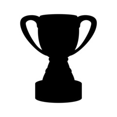 Cup champion on a white background isolated