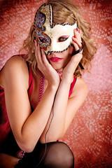 Burlesque Carnival Sexy Girl #8
