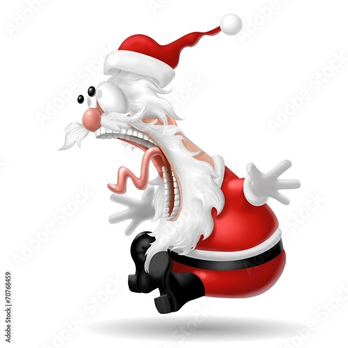 Babbo Natale Pazzo.Babbo Natale Shock Stock Photo And Royalty Free Images On Fotolia