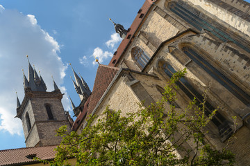 Church of our Lady begore Tyn in Prague