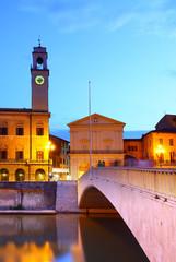 Wall Mural - Ponte di Mezzo in Pisa