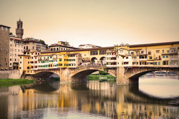 Wall Mural - Ponte Vecchio bridge in Florence