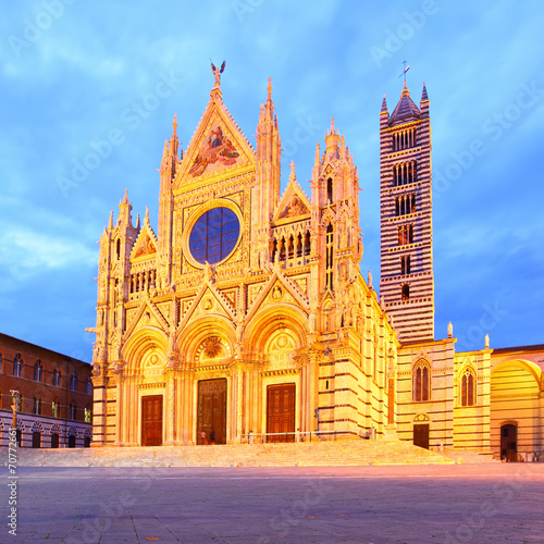 Wall mural Duomo di Siena
