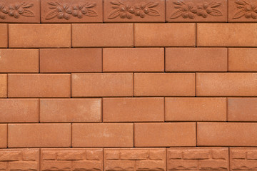 Background texture of laterite stone wall.