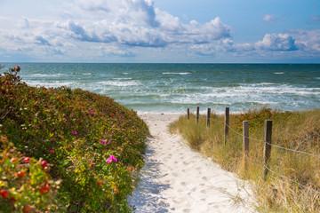 Zugang Ristinge Strand
