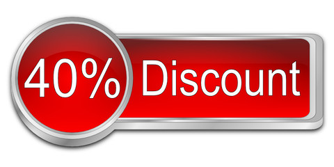 40% Discount Button