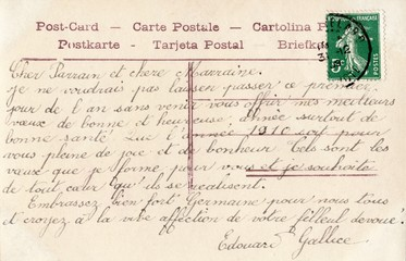 French Antique Postcard 48