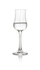 gefülltes Grappaglas