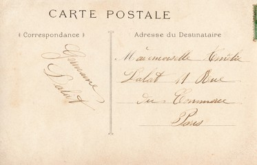French Antique Postcard 56