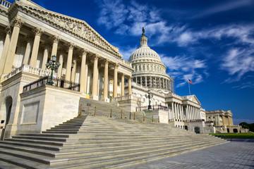 United States Capitol Building east facade, Washington DC, USA